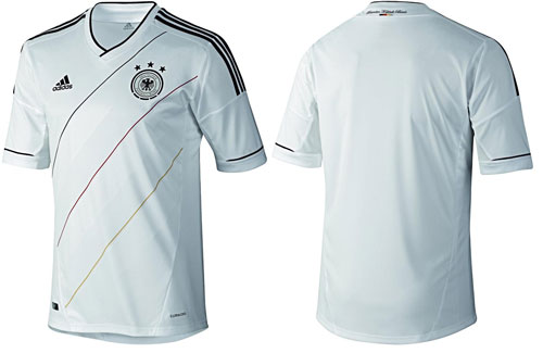 Das Deutschland Trikot 2012