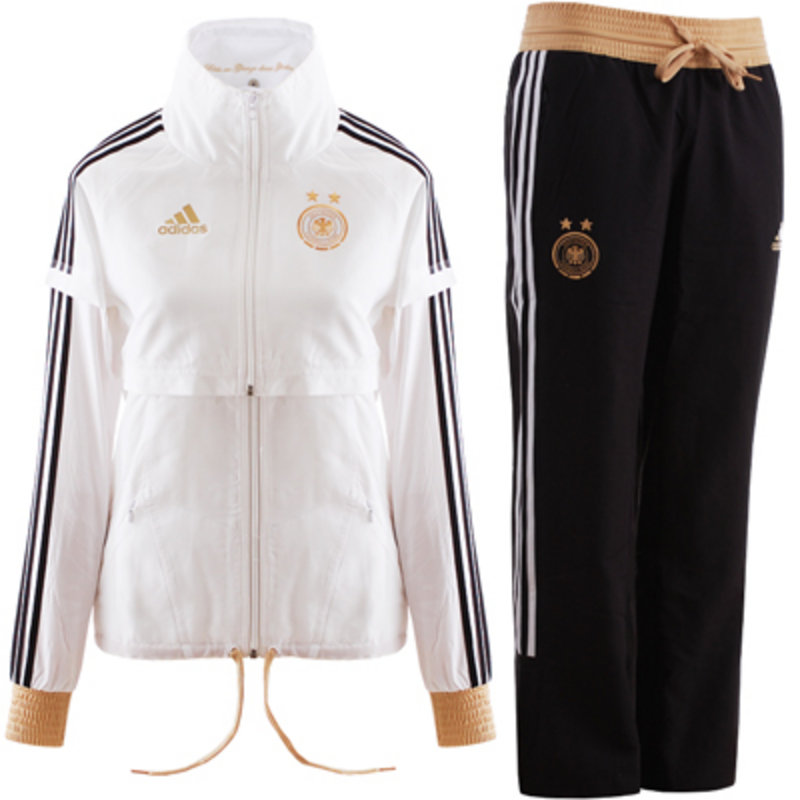 pin adidas damen trainingsanzug young knit suit. Black Bedroom Furniture Sets. Home Design Ideas
