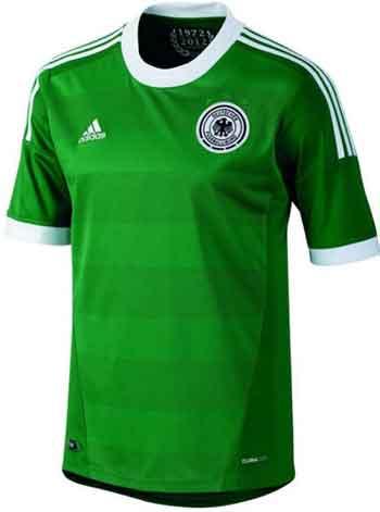 Deutschland DFB Trikot 2012 grün