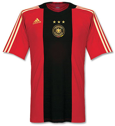 Das rote Trikot zur EM 2008