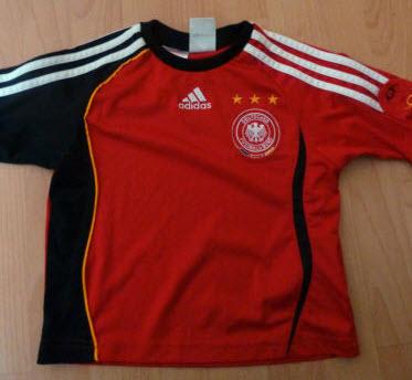 Das rote Trikot zur WM 2006