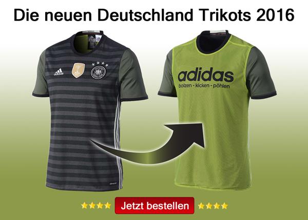 Das neue Asuwärts Deutschland Trikot 2016