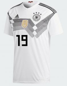 Mario Götze trägt die Rückennummer 19 auf seinem Trikot.