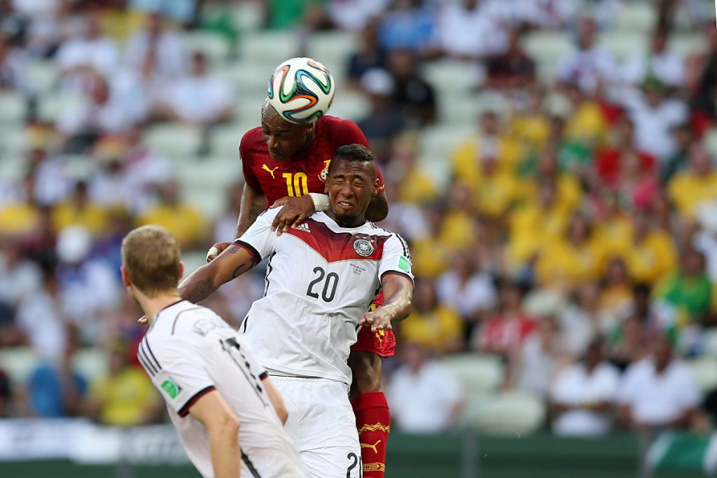 Jerome Boateng im Trikot von Deutschland mit der 20. (Foto Shutterstock)