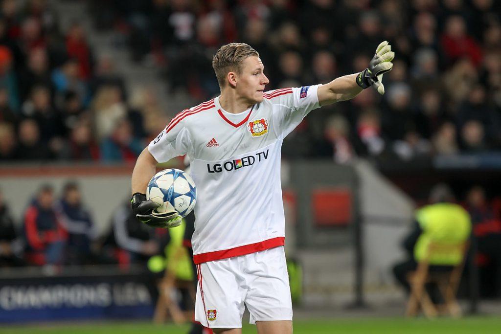 Bernd Leno im Bayer 04 Leverkusen Trikot (Foto Shutterstock)
