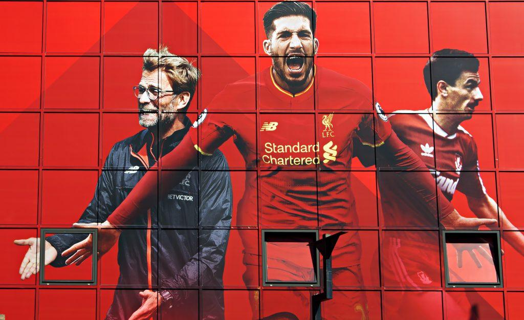 Emre Can vom FC Liverpool - ein sicherer Kandidat für die WM 2018! (Foto Shutterstock)