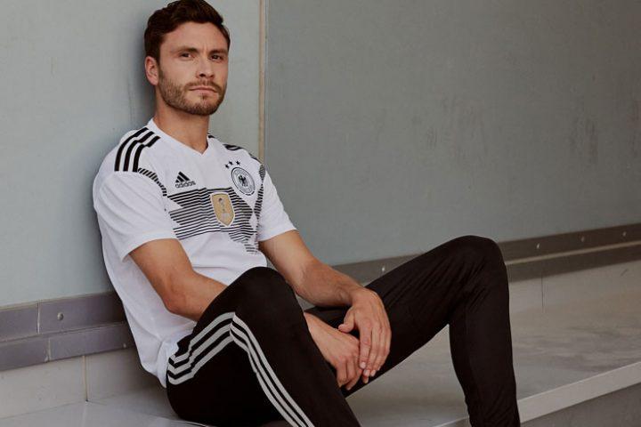 Jonas Hector im neuen Deutschland Trikot 2018
