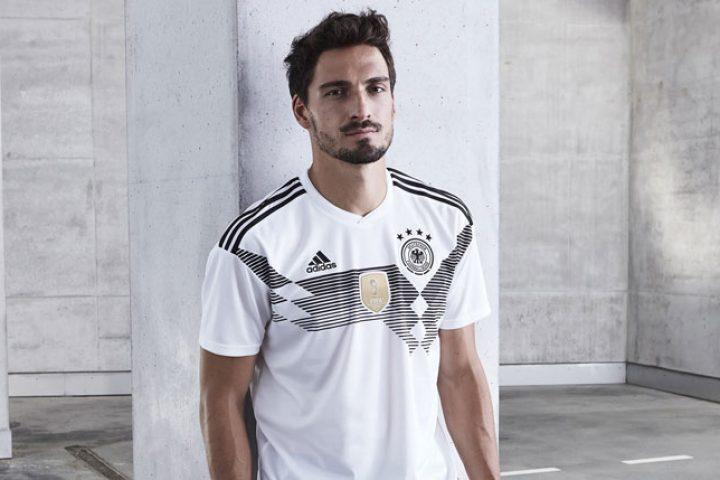 Mats Hummels im neuen Deutschland Trikot 2018