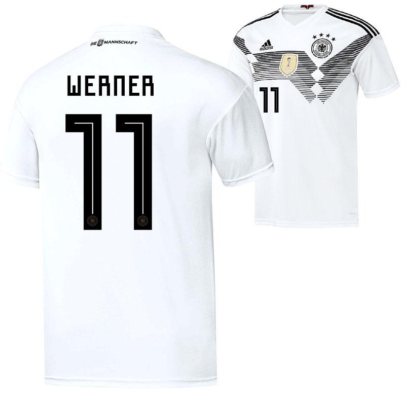Timo Werners Rückennummer 11 im DFB-Trikot 2018