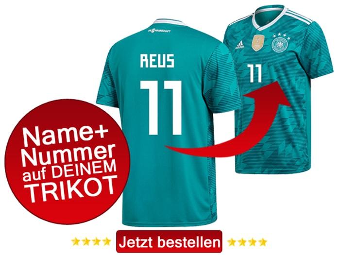 Welche Rückennummer hat Marco Reus? Die 11 natürlich!
