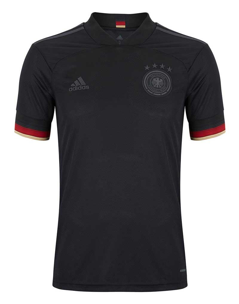 Das neue DFB Away in Schwarz von Deutschland